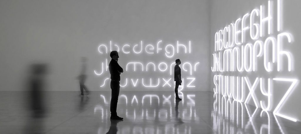 Artemide BIG Alphabet of Light