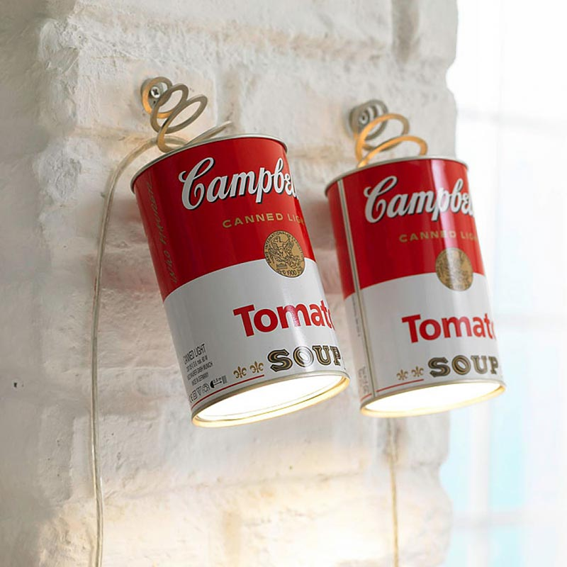 Ingo Maurer Canned Light Parete disponibile da Stilluce Store Bergamo