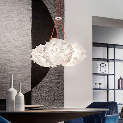 Slamp Veli Couture mini trio sospensione ideale per illuminare le pareti di casa tua